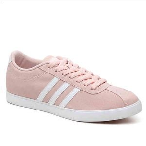 Adidas Women's Pink Courtset Sneaker